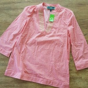 C. Wonder Cotton tunic
